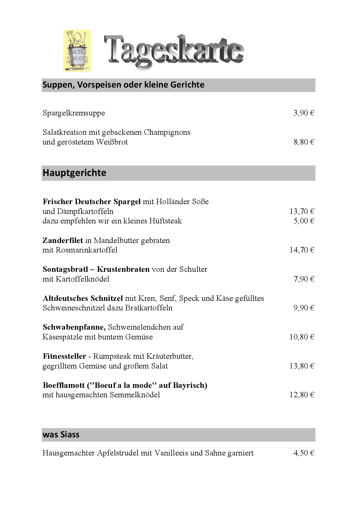 Hotel Gasthof Zur Post Erlau